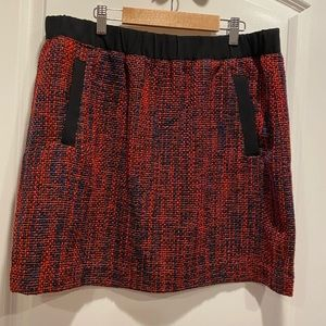 NWT Loft tweed mini skirt
